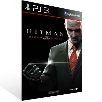 Hitman Blood Money Hd - Ps3 Psn Mídia Digital