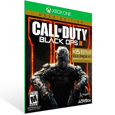 Call Of Duty Black Ops 3 Gold Edition - Xbox One Live Mídia Digital
