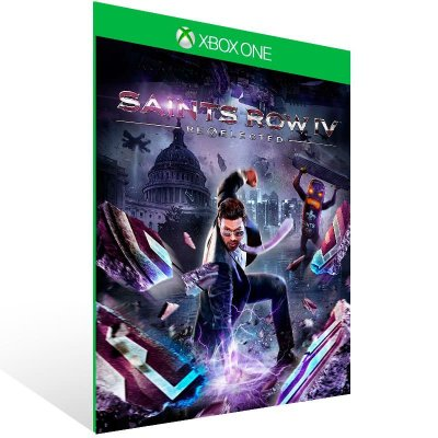 Saints Row Iv Re Elected - Xbox One Live Mídia Digital