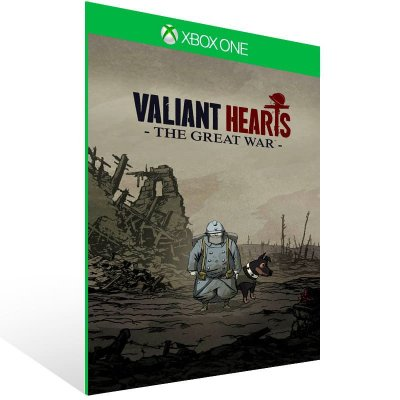 Valiant Hearts The Great War - Xbox One Live Mídia Digital