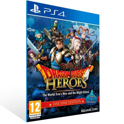 Dragon Quest Heroes The World Tree Woe And The Blight Below - Ps4 Psn Mídia Digital