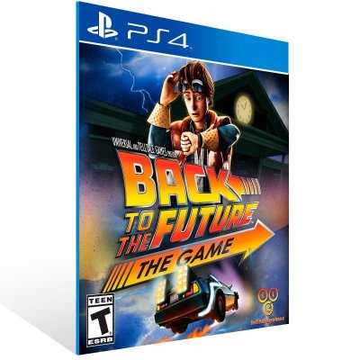 Back To The Future The Game 30Th Anniversary Edition - Ps4 Psn Mídia Digital