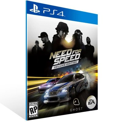 Need For Speed Deluxe Edition - Ps4 Psn Mídia Digital