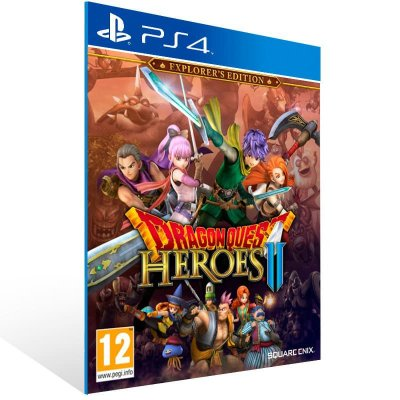 Dragon Quest Heroes 2 Explorer's Edition - Ps4 Psn Mídia Digital
