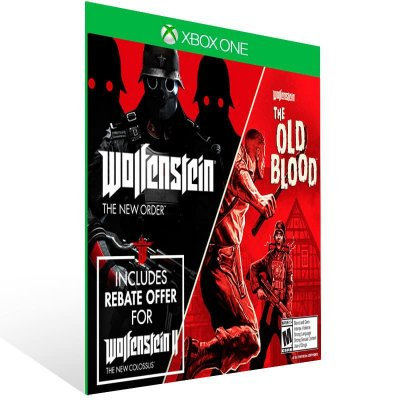 Wolfenstein The Two Pack - Xbox One Live Mídia Digital