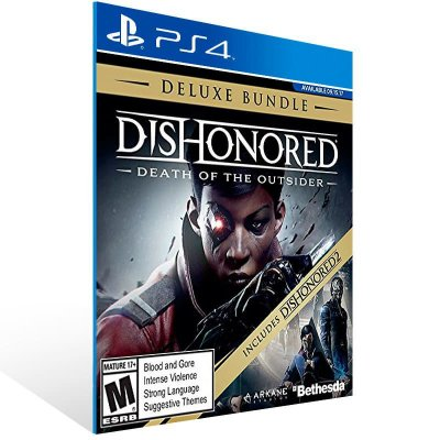 Dishonored Death of the Outsider Deluxe Bundle - Ps4 Psn Mídia Digital