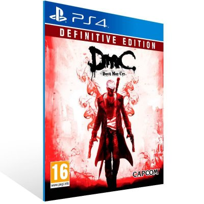 Dmc Devil May Cry Definitive Edition - Ps4 Psn Mídia Digital
