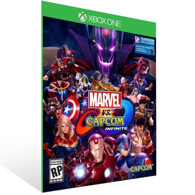 Marvel Vs Capcom Infinite - Xbox One Live Mídia Digital