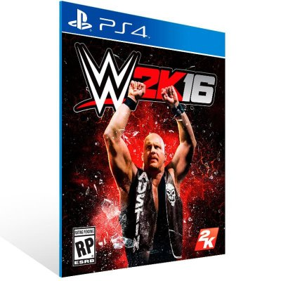 WWE 2K16 - Ps4 Psn Mídia Digital