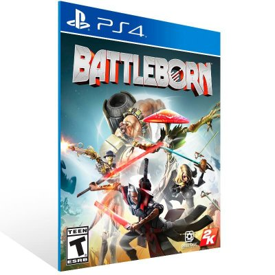 Battleborn - Ps4 Psn Mídia Digital