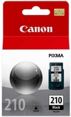 Cartucho Canon PG210 Preto MP240 MP260 MP480 IP3600 PG 210