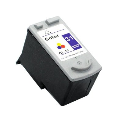 Cartucho Canon CL31 Colorido Compativel 20ml IP1800 IP1900 CL 31