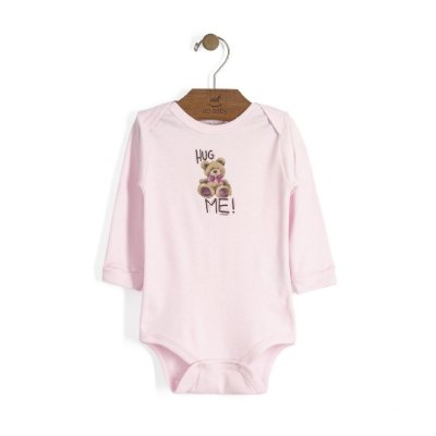 Body Manga Longa | Up Baby - Hug Me Rosa
