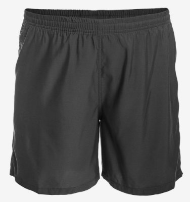 Shorts de Tactel Preto