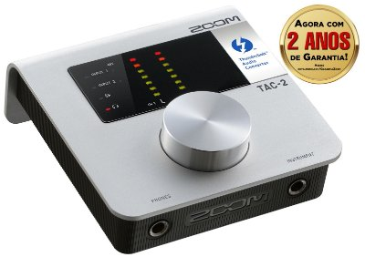 Interface de Audio Zoom Tac 2