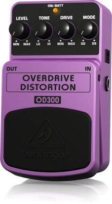 Pedal Behringer OD300 Overdriver Distortion