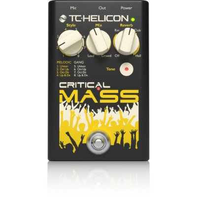 Pedal Tc Helicon Critical Mass