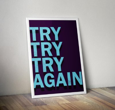 Try Try Try Again