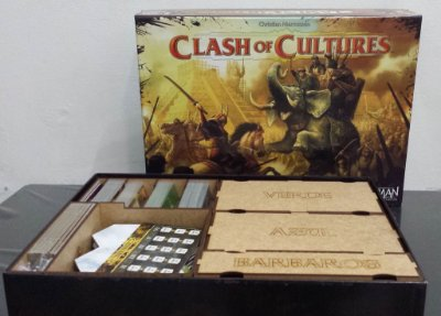 Organizador (Insert) para Clash of Cultures
