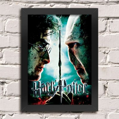 Poster Harry Potter vs Voldemort
