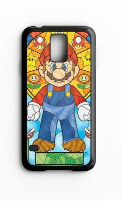 Capa para Celular Mario Bros Galaxy S4/S5 Iphone S4
