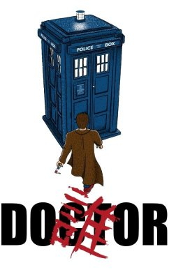 Camiseta Doctor Who Police Box