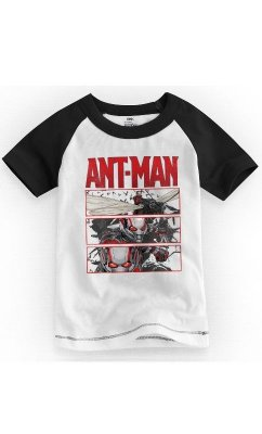 Camiseta Infantil Ant-Men