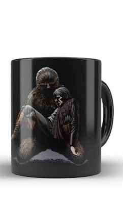 Caneca Han Solo and Hewbacca