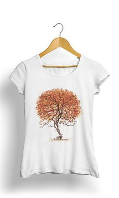 Camiseta Feminina Tropicalli Tree