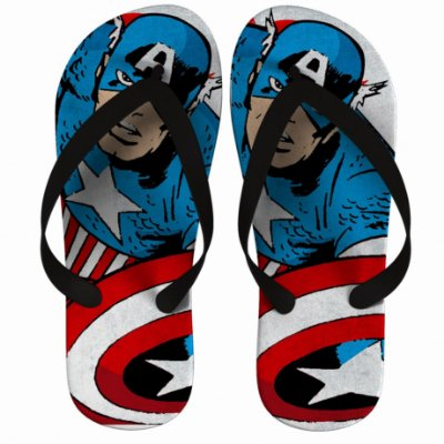 Chinelo Captain America