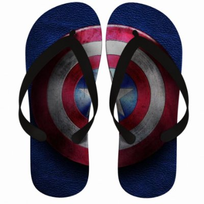 Chinelo Captain America Shield