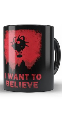 Caneca I Want To Believe