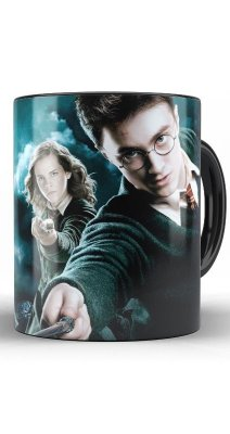 Caneca Harry Potter and Hermione Granger