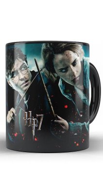 Caneca Harry Potter and Hermione Granger HP7