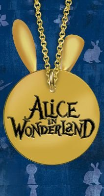 Colar ALice In Wonderland Presentes Criativos​