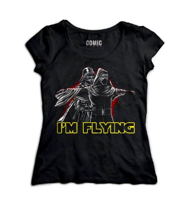Camiseta Feminina  Darth Vader - Star Wars