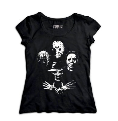 Camiseta Feminina Jason and Killers