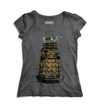 Camiseta Feminina Doctor Who - Police