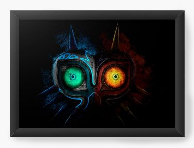 Quadro Decorativo The Legend of Zelda Majora's Mask
