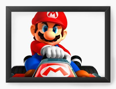 Quadro Decorativo Super Mario Kart
