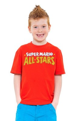 Camiseta Infantil Super Mario - All Stars