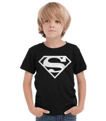 Camiseta Infantil Super Men