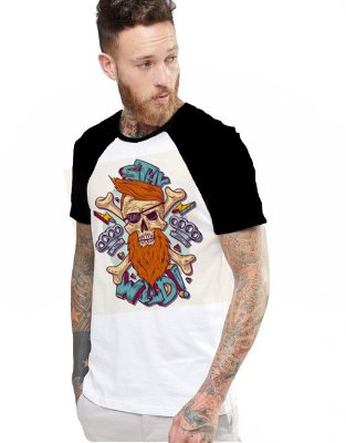 Camiseta Raglan King33 Pirate