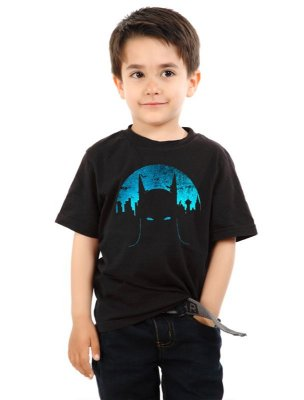 Camiseta Infantil Batman - Super Heroi