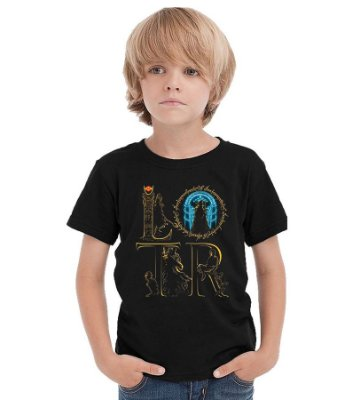 Camiseta Infantil The Lord of the Rings