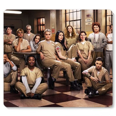 Mouse Pad Orange Is the New Black 23x20