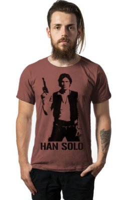 Camiseta Estonada Han Solo - Star Wars
