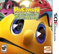 Pac-Man And The Ghostly - Adventures - 3Ds