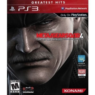 Ps3 - Metal Gear Solid 4: Guns Of The Patriots