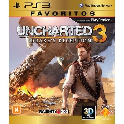 Uncharted 3: Drakes Deception - Ps3